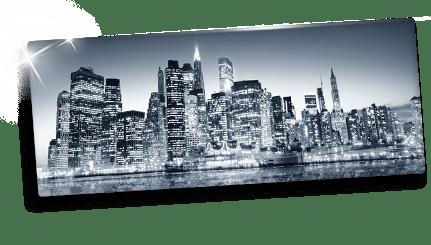Foto op plexiglas idee voor panorama