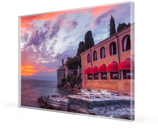 Foto op plexiglas met Italiaanse kunst in 8mm