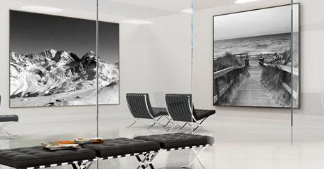 Grote ruimte met foto's op aluminium_1