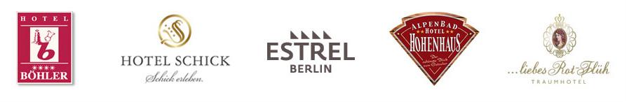 Logo's foto op plexiglas in hotels