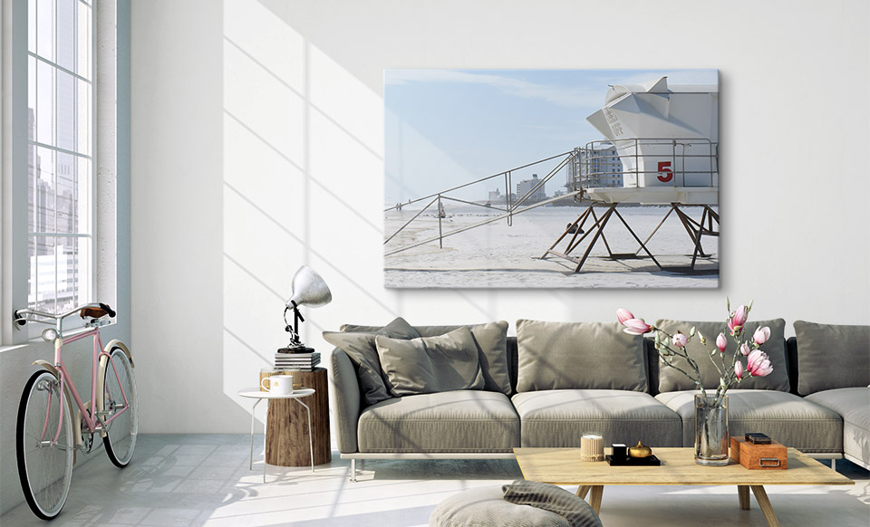 foto afdrukken op glas woonruimte