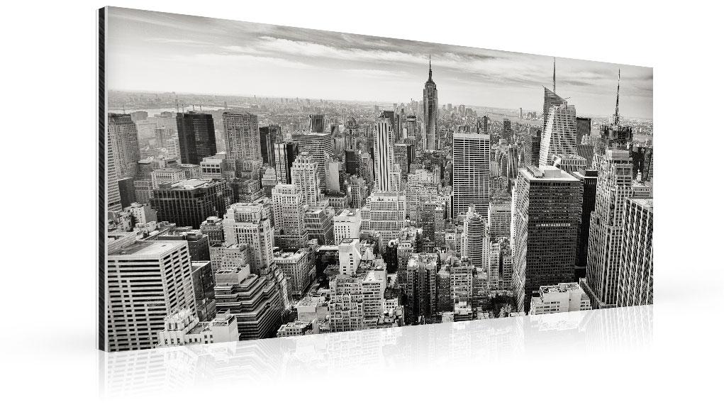 foto op aluminium panorama top