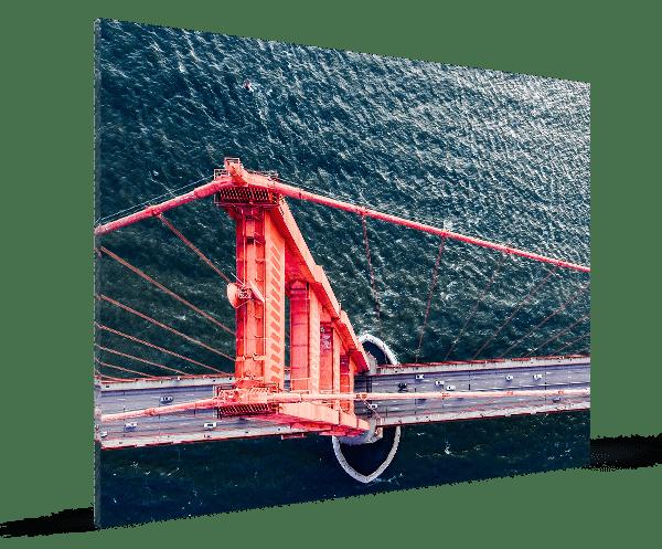 foto op plexiglas standard 3d