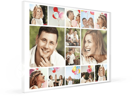fotocollage op plexiglas product