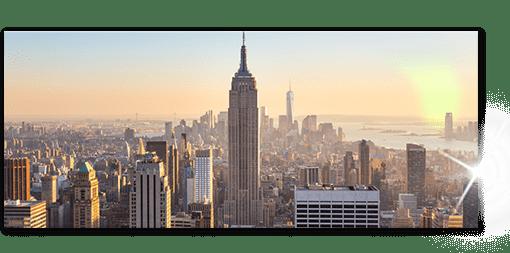 panorama foto op plexiglas top